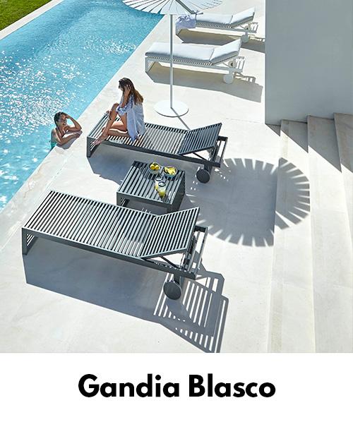 Luksusowe meble ogrodowe Gandia Blasco