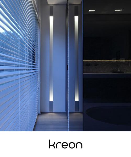 Minimalistyczne lampy Kreon