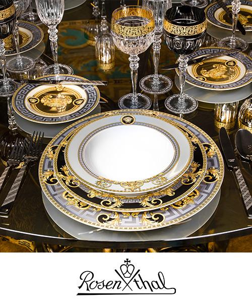 Zastawa stołowa Versace Rosenthal